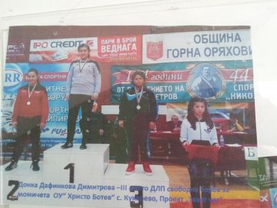 Спортната  слава на Кукорево - ОУ Христо Ботев - Кукорево